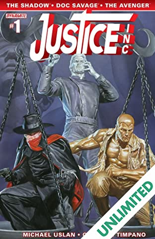 Justice, Inc. #1 (of 6): Digital Exclusive Edition